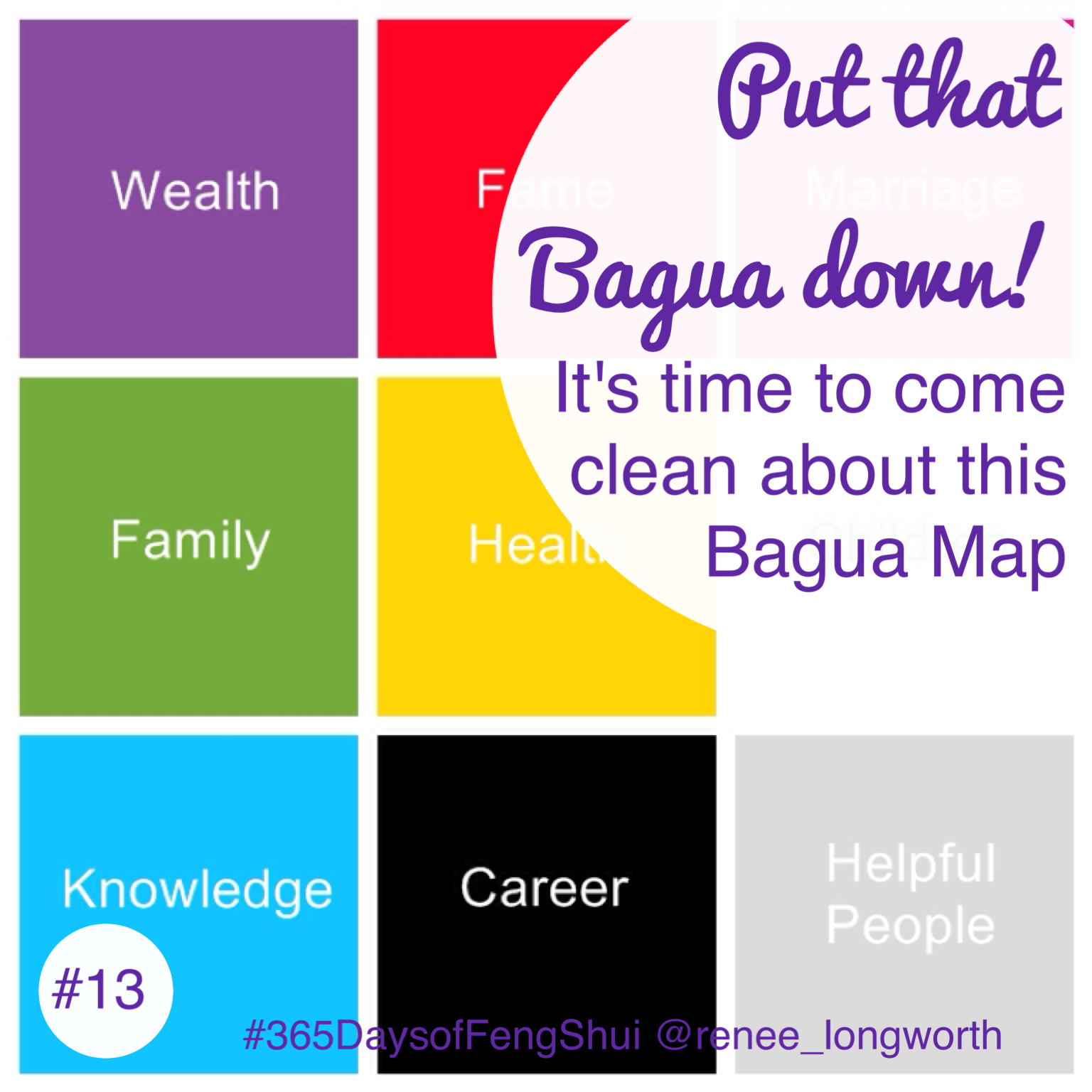 . put that bagua map down and step away slowly