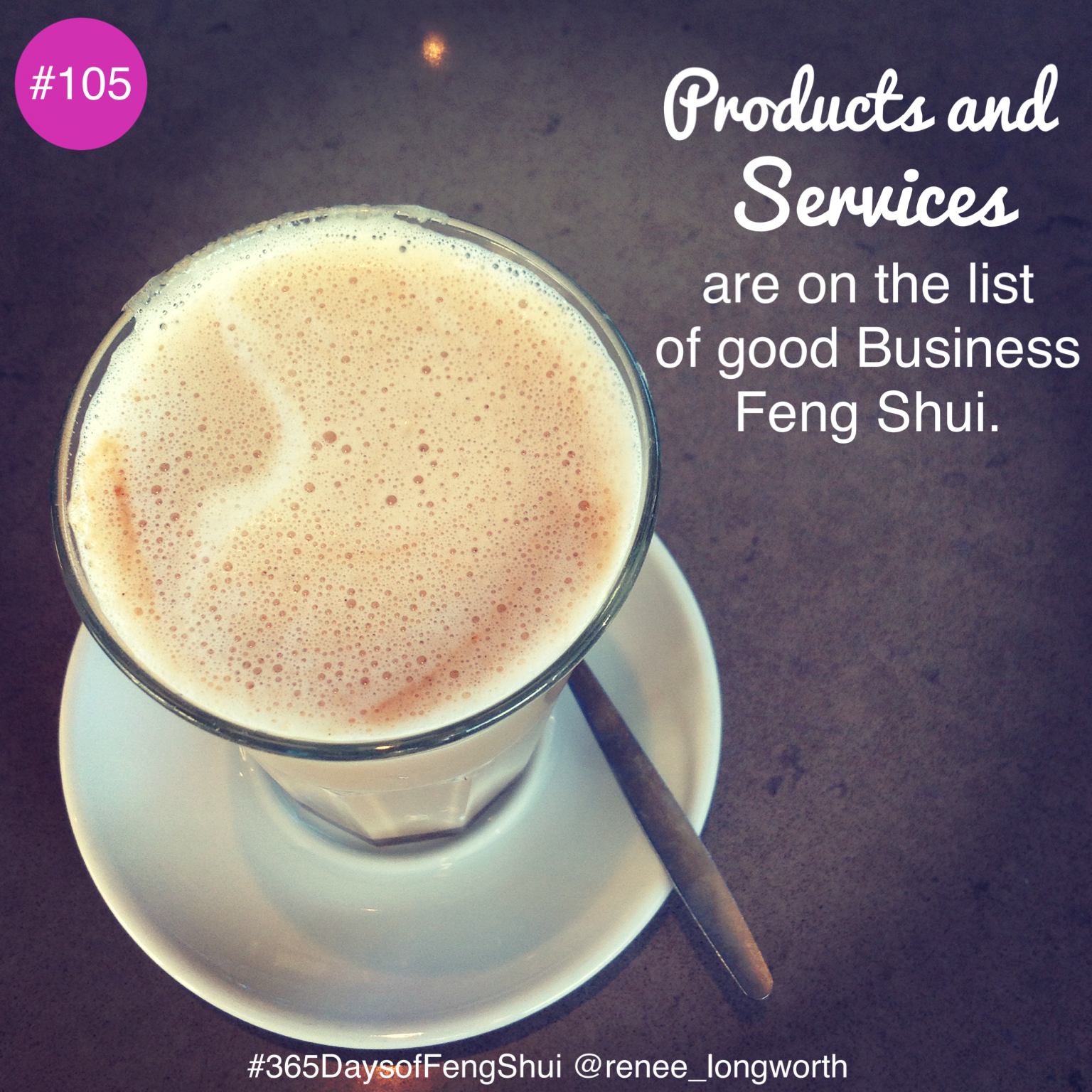 Products Services: Day #105 Of #365 Days Of Feng Shui