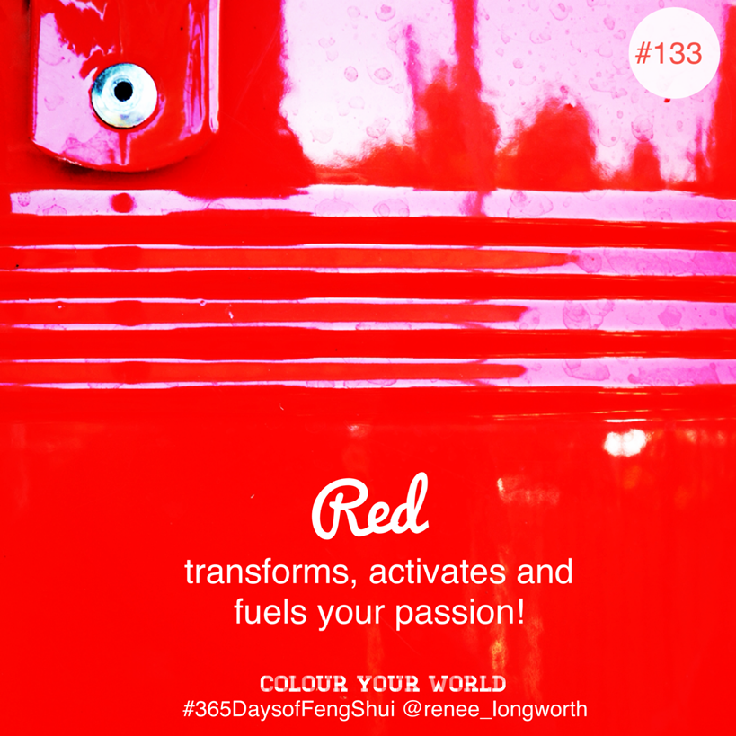 Colour Your World Feng Shui Red