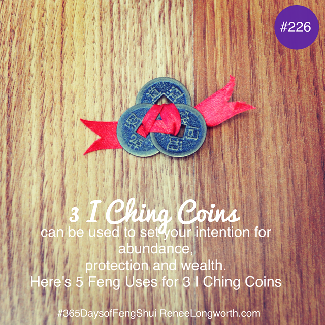How to use the Feng Shui 3 I Ching coins for Money Luck.