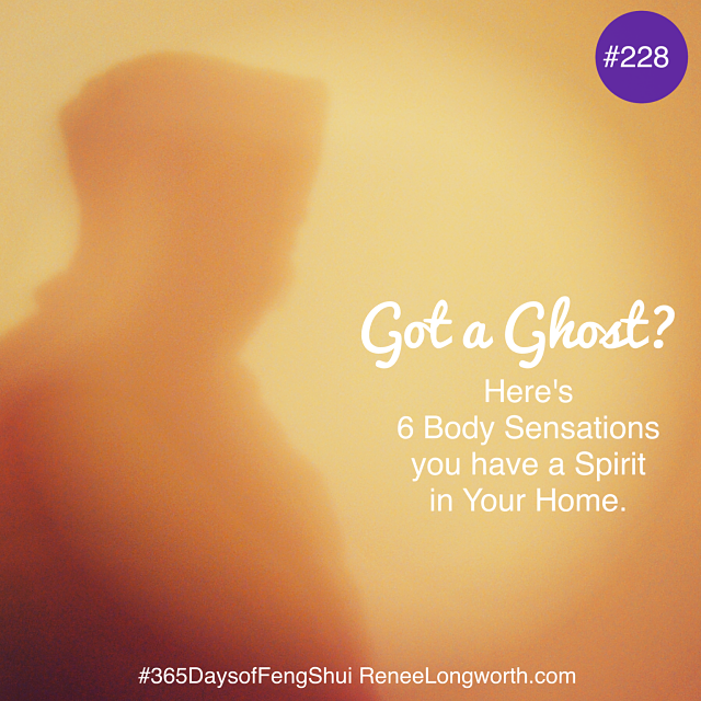 6 Body Sensations you have a Spirit in your Home.