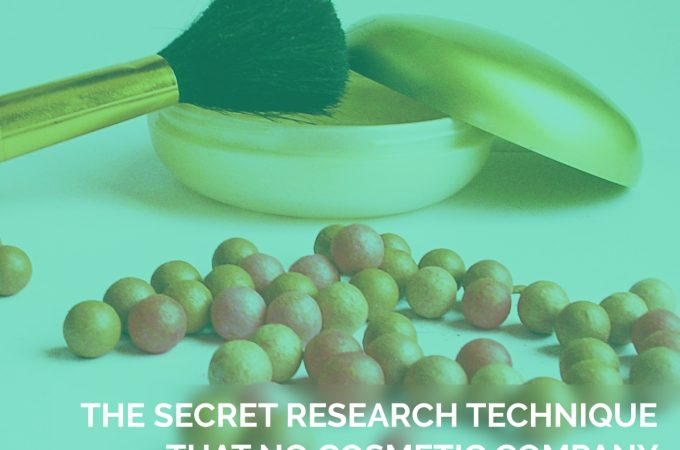 The Secret Research Technique that no Cosmetic Company would want you to Learn.