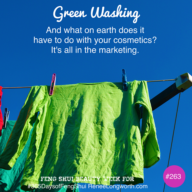 What is Green Washing?