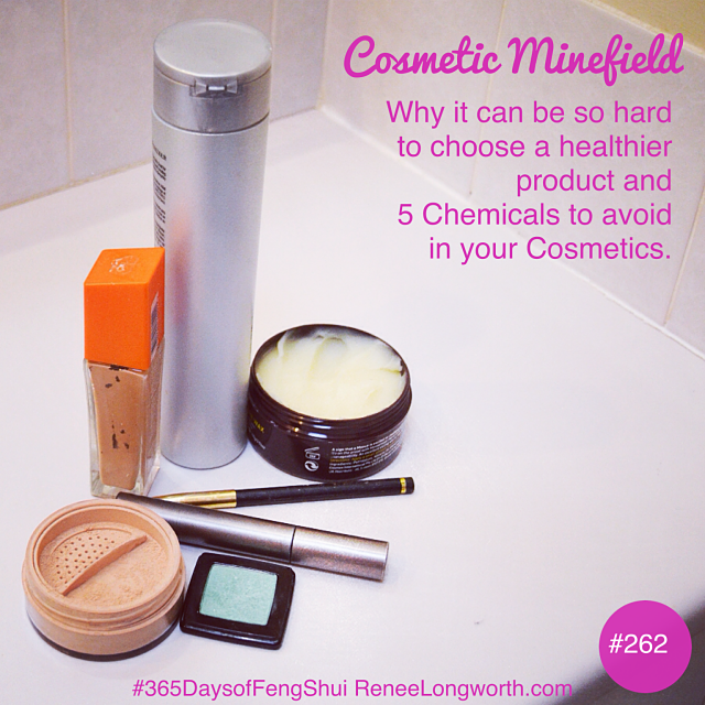 The Top 5 Chemicals to avoid in your Cosmetics