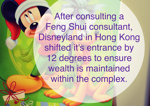 Disneyland Feng Shui