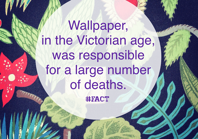 Wallpaper caused many deaths via design Feng Shui