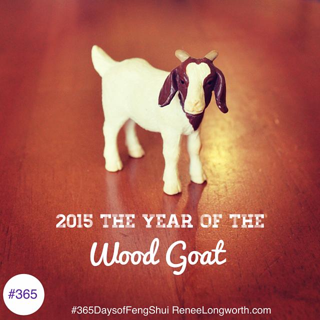 wood goat