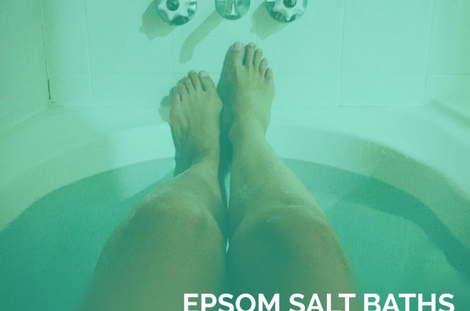 Epsom Salt Baths for Sacred Soaking