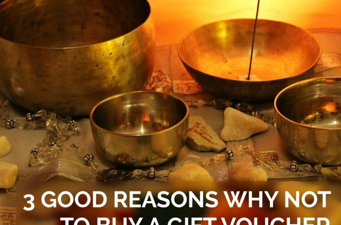 3 Good Reasons Why NOT to buy a Gift Voucher of Healing for a Friend.